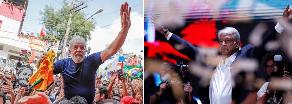 Lula a Obrador: cuide de todos, em especial dos mais pobres