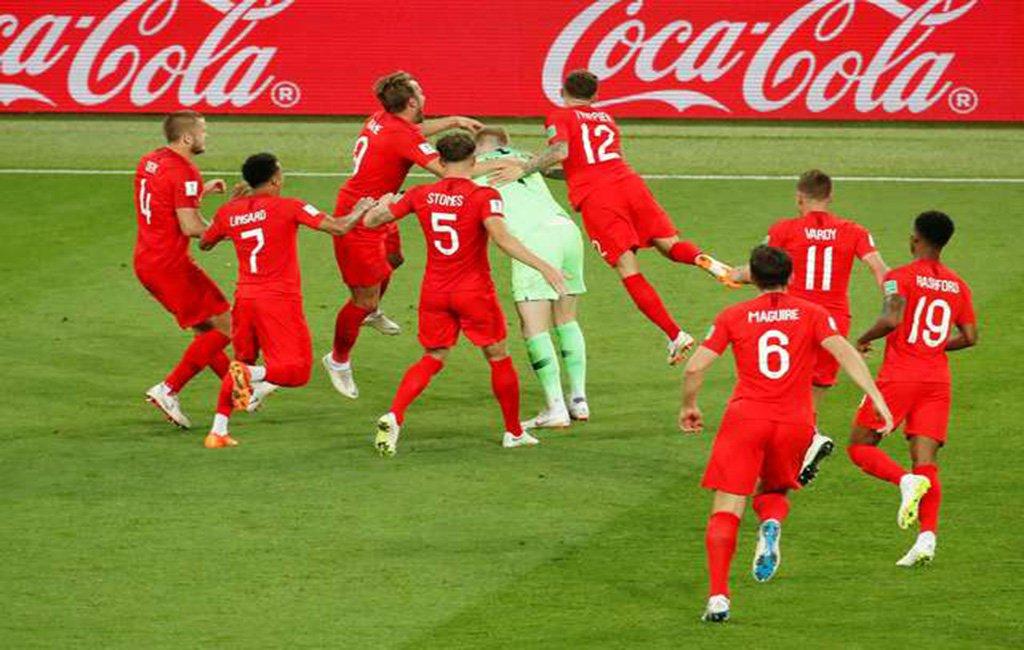 Inglaterra bate a Colômbia nos pênaltis e pega a Suécia nas quartas