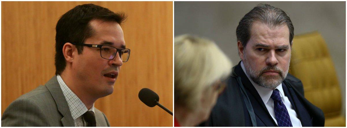 Após críticas de Dallagnol a Toffoli, entidades defendem independência judicial