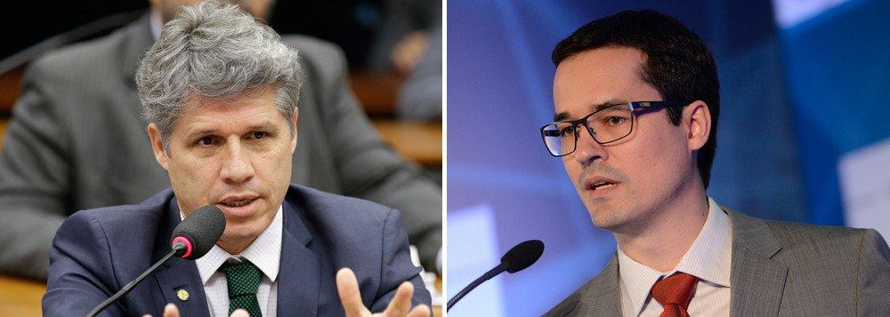 Teixeira rebate Dallagnol sobre quem seria seu 'chefe': EUA?