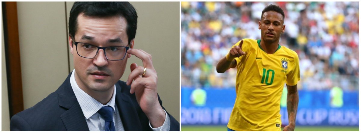 DCM: Dallagnol é uma espécie de Neymar sem a parte do talento, mas com a da canastrice