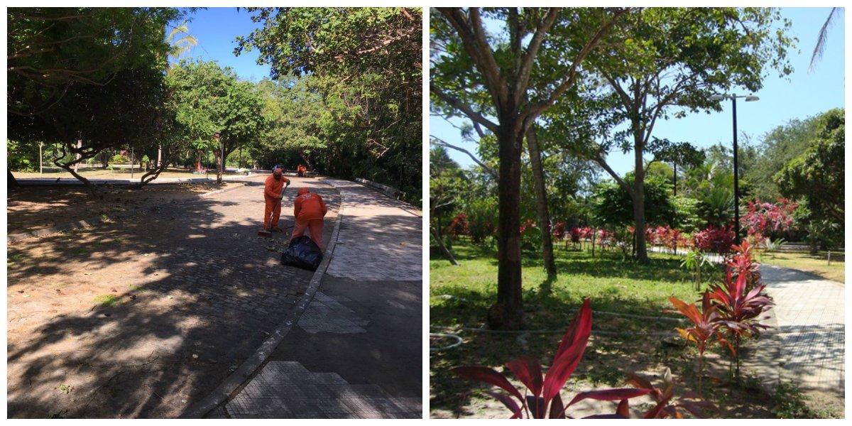 Governo inaugura requalificação Parque Adhail Barreto