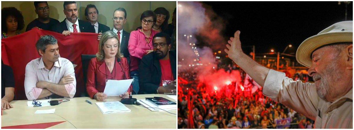 Em manifesto, Lula aponta manobras do Judiciário e reafirma candidatura