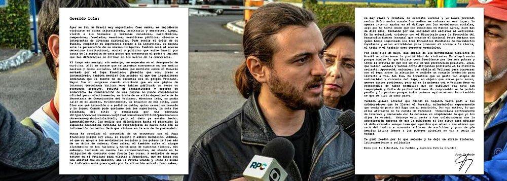 Consultor do Vaticano denuncia fakenews da mídia e confirma que terço veio do papa a Lula