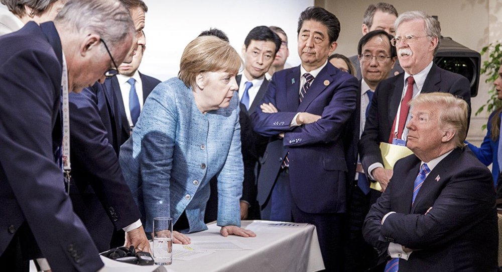 Trump decide não assinar documento final do G7