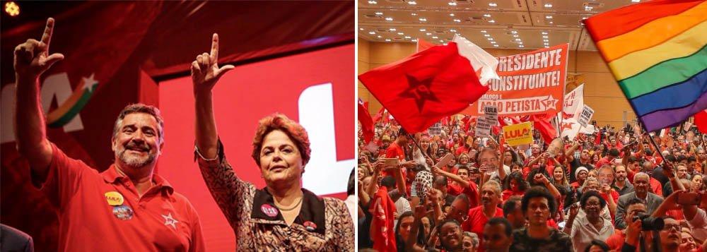 Pimenta: PT vai priorizar aliança com PCdoB e PSB
