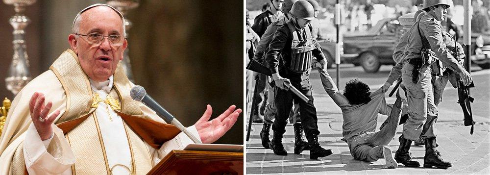 Papa Francisco reconhece martírio de vítimas da ditadura argentina