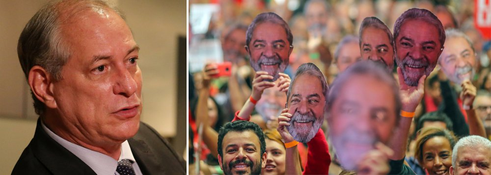 Ciro admite aliança com PP e DEM e diz que Lula não será candidato