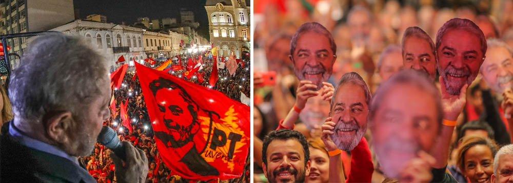 """Lula ao povo: """"nosso reencontro será em breve"""""""