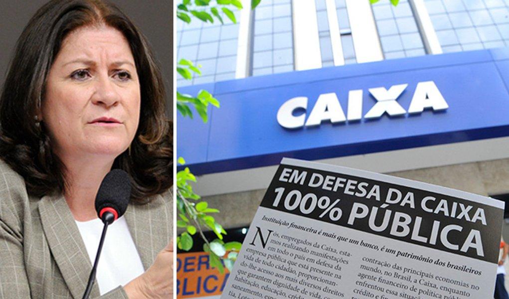 Miriam Belchior: nenhum banco privado faria o que a Caixa faz