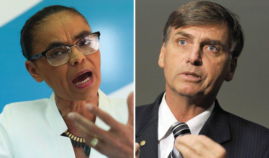 """Marina critica o """"todos contra Bolsonaro"""""""