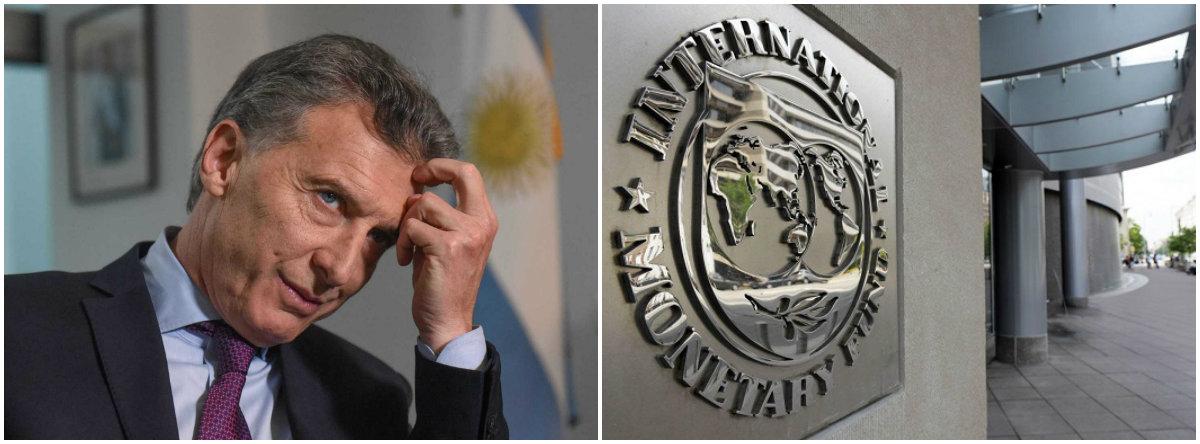 FMI volta a dar as cartas na Argentina de maneira oficial