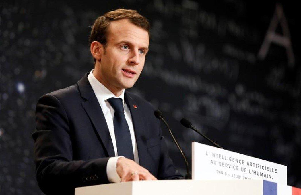 Macron: líderes do G7 precisam ser civilizados quando pressionarem Trump