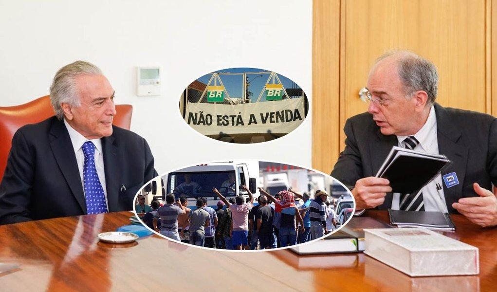 PT vai à PGR contra Temer e Parente pelo caos dos combustíveis