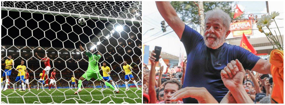Gol da Suíça deveria ser anulado tal como a condenação de Lula