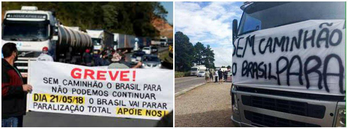A greve dos caminhoneiros e o modelo de desenvolvimento do Brasil