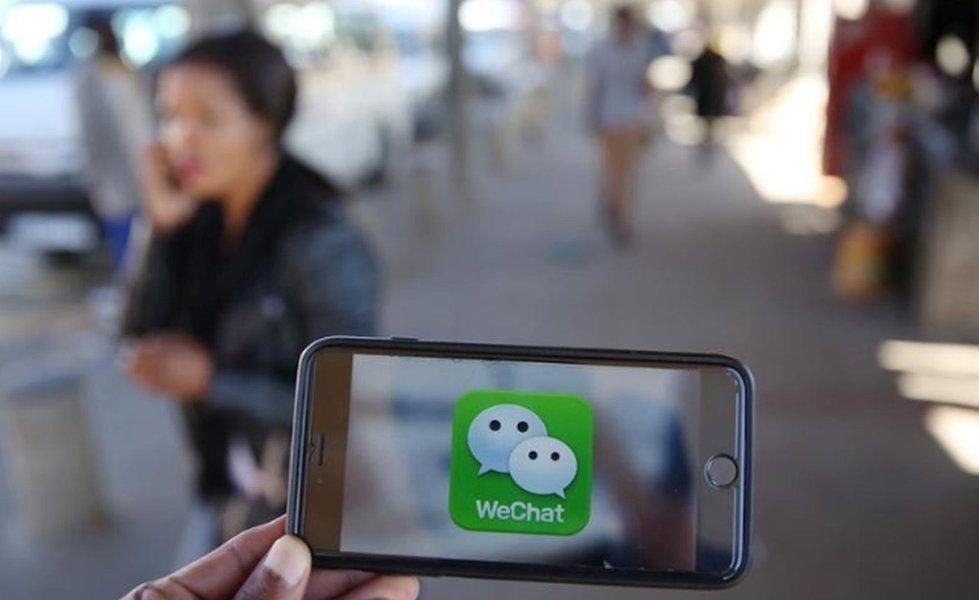 """WeChat, da Tencent, retira site de encontros """"sugar daddy"""" do ar"""