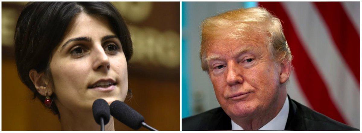 """Manuela bate pesado na política """"tolerância zero"""" dos EUA contra imigrantes"""