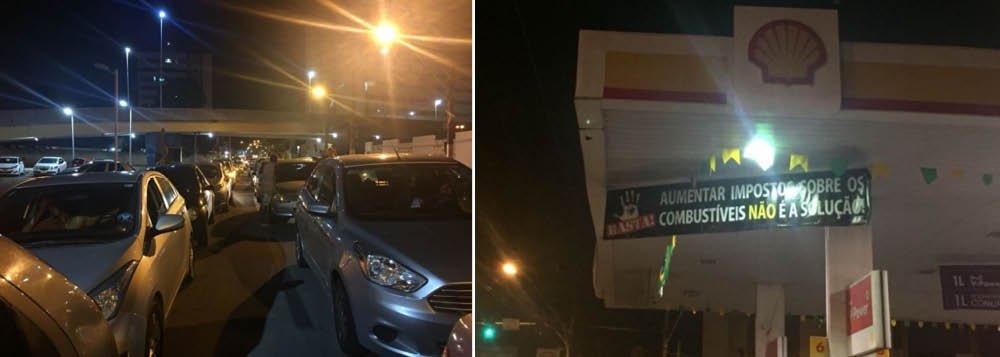 Estoques de combustíveis acabam hoje em Maceió