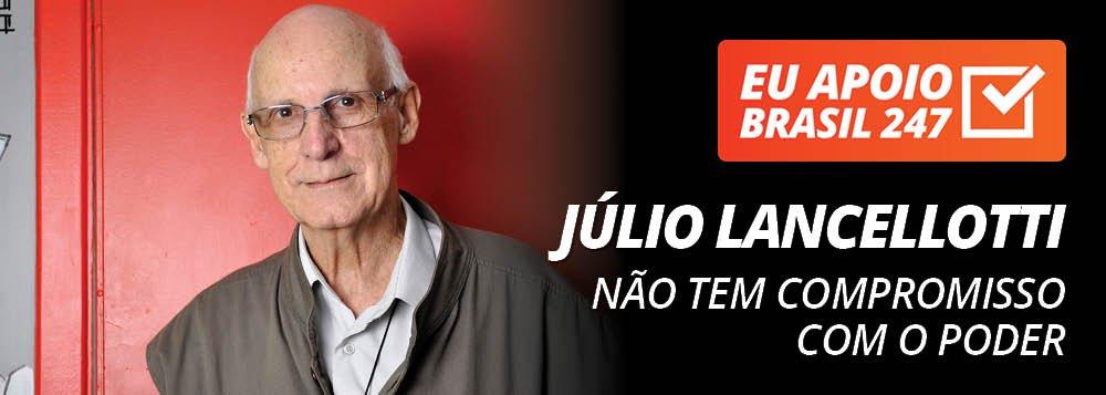 Júlio Lancellotti apoia o 247: não tem compromisso com o poder