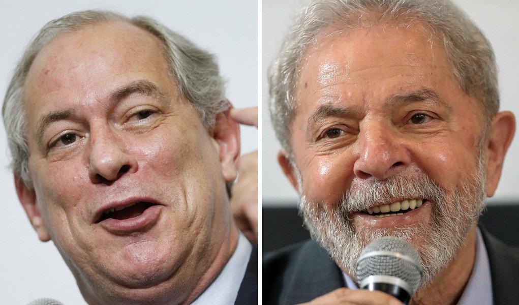 Ciro vice de Lula? O ato final do teatro do PT