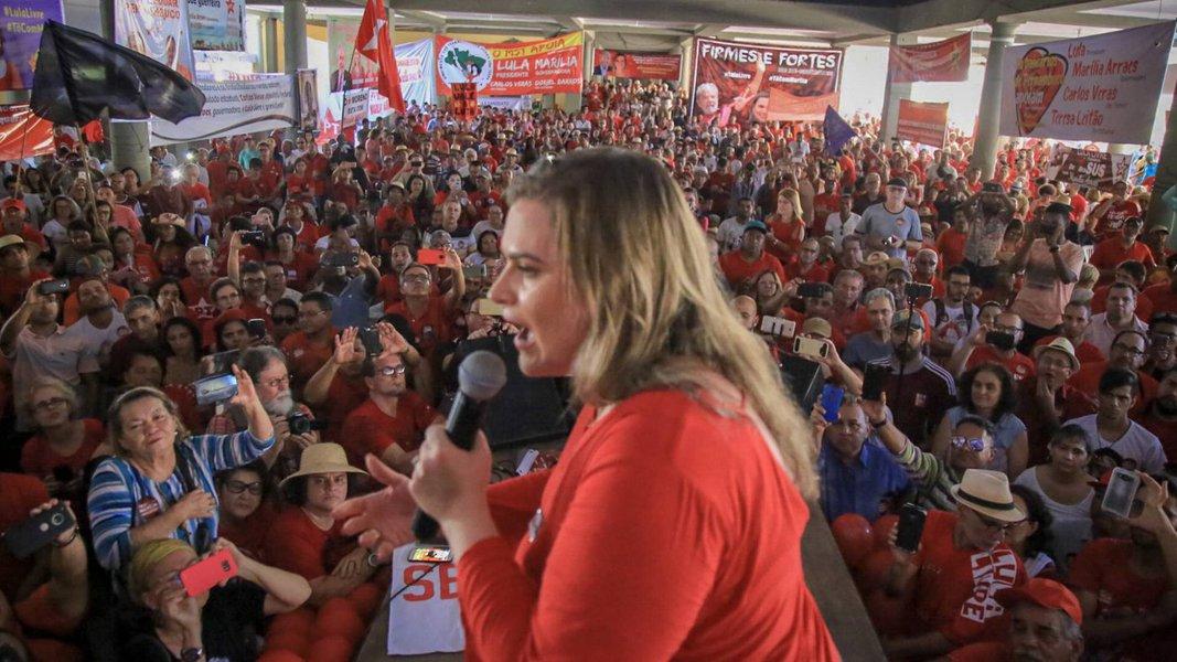 Marília mantém candidatura e anuncia recurso contra o PT