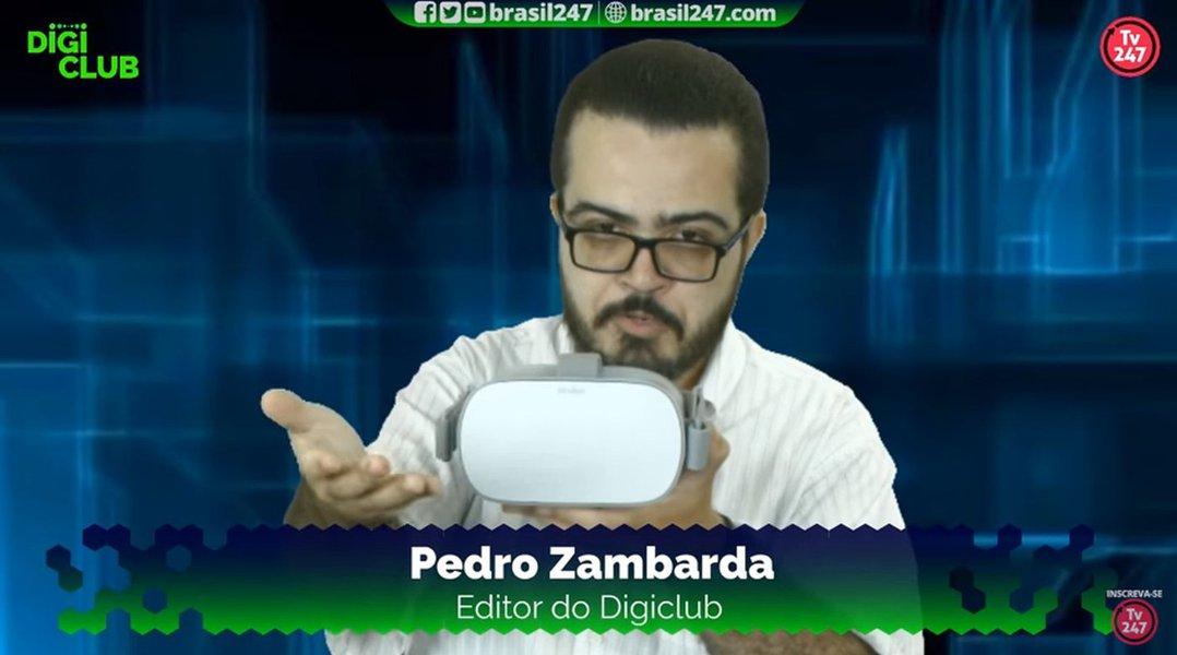 Exclusivo: DigiClub testa o Oculus GO do Facebook na TV247