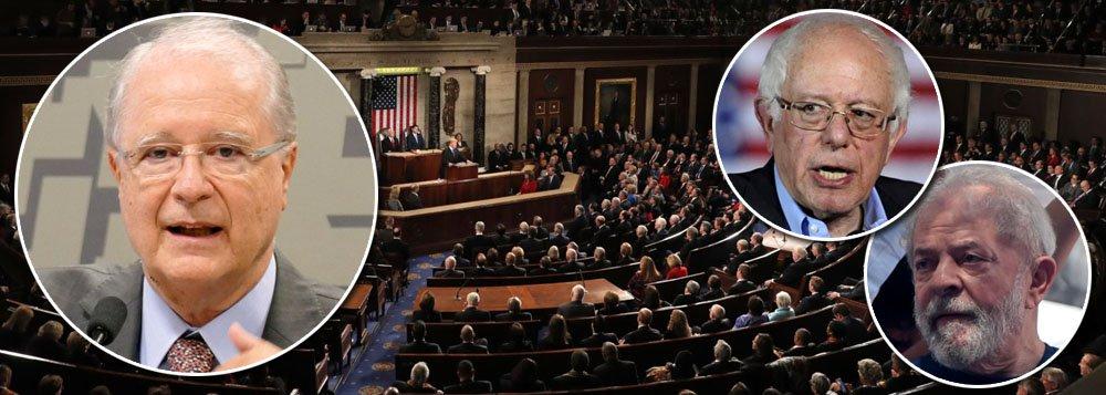 Ao defender o golpe, Sérgio Amaral zomba de congressistas americanos