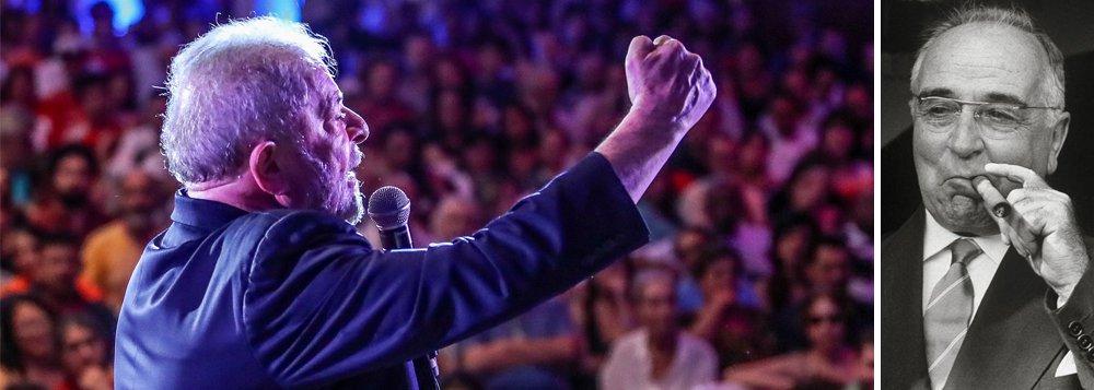 Lula será eleito no 1º turno e se for cassado levará seu candidato à vitória, como Getúlio o fez
