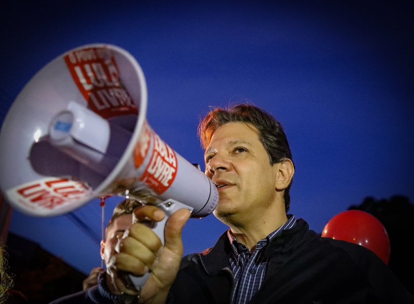 Haddad pode ir à Band, mas sem participar do debate