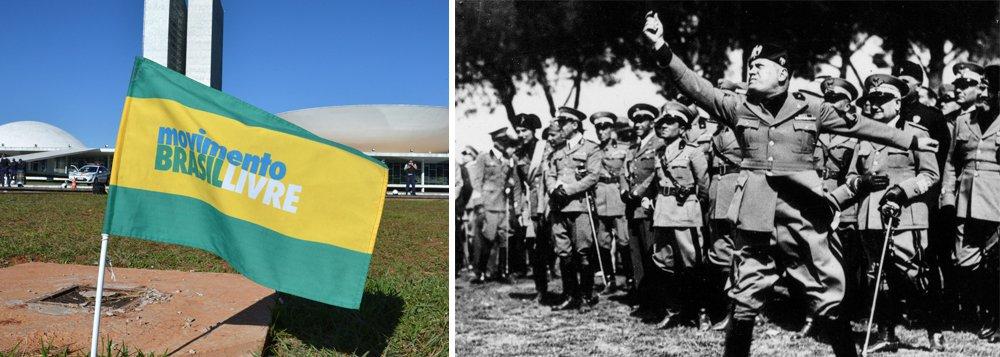A semelhança assustadora entre o MBL e as milícias fascistas italianas e a reação tardia ao fascismo tupiniquim