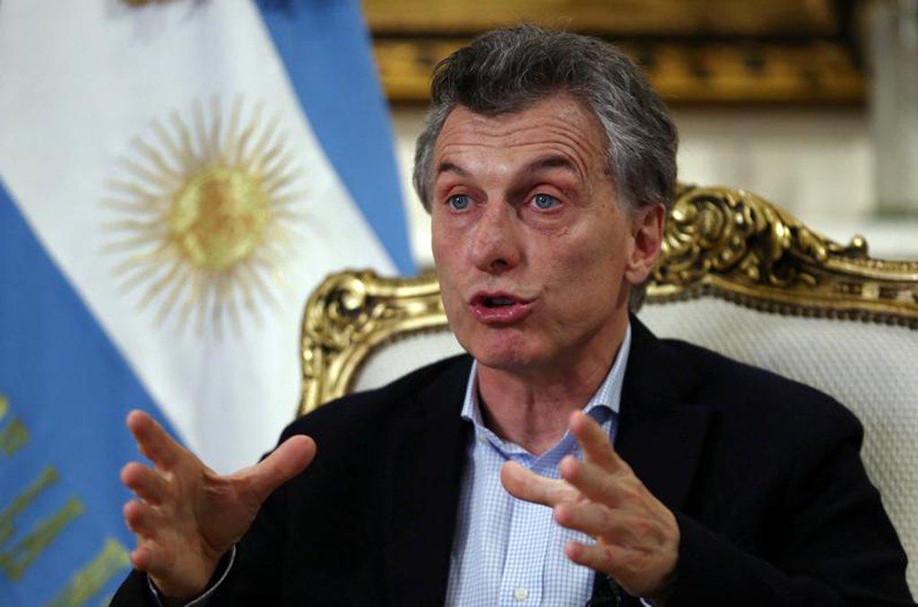 """Macri critica """"escalada de medidas unilaterais"""" e pede consenso"""