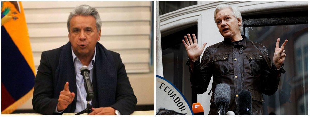 Equador prepara-se para expulsar Assange de sua embaixada