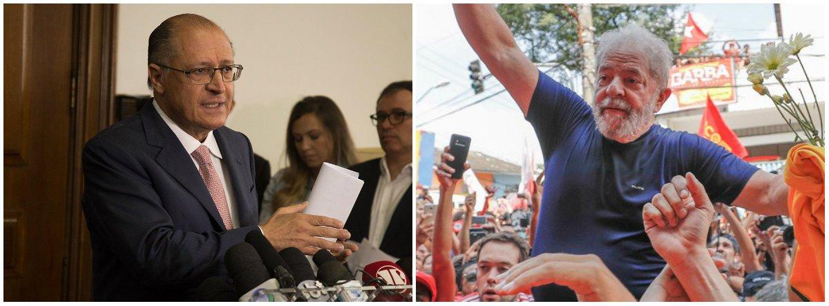 Centrão já aposta em segundo turno entre Alckmin e o PT