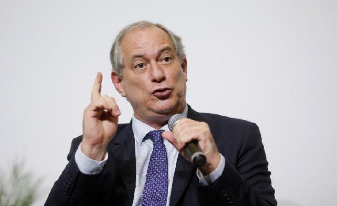 """Ciro afirma que, se eleito, terá apoio do """"centrão"""""""