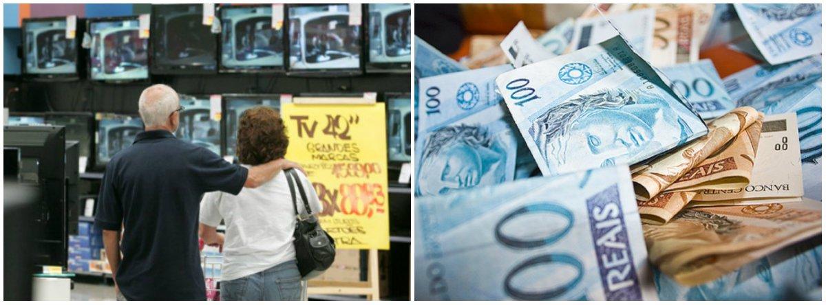 Gasto das famílias com juros sobe 18% além da inflação e soma R$ 354 bi