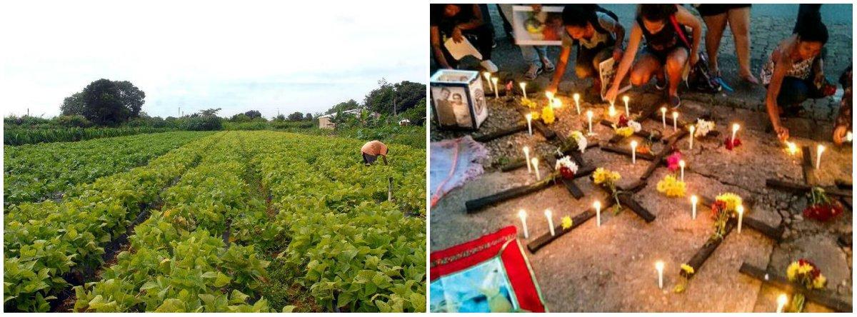 No dia do Trabalhador Rural, CUT lamenta: País é recordista mundial em homicídios no campo