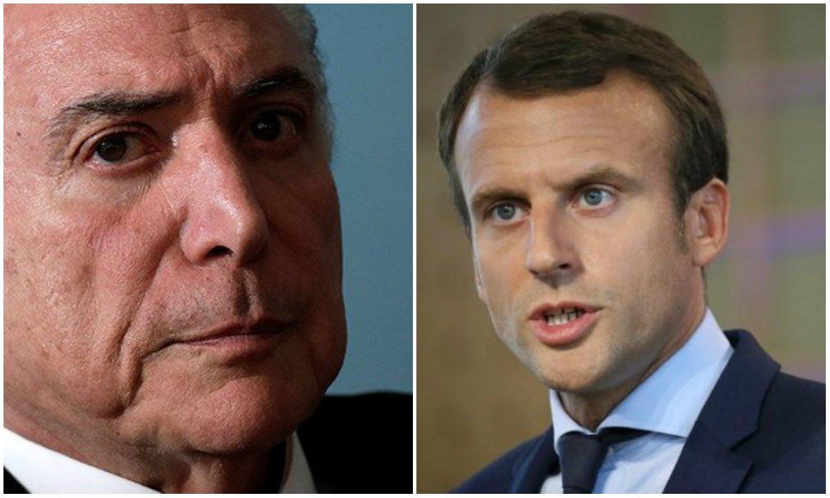 Brasil e França sob a mesma tutela internacional