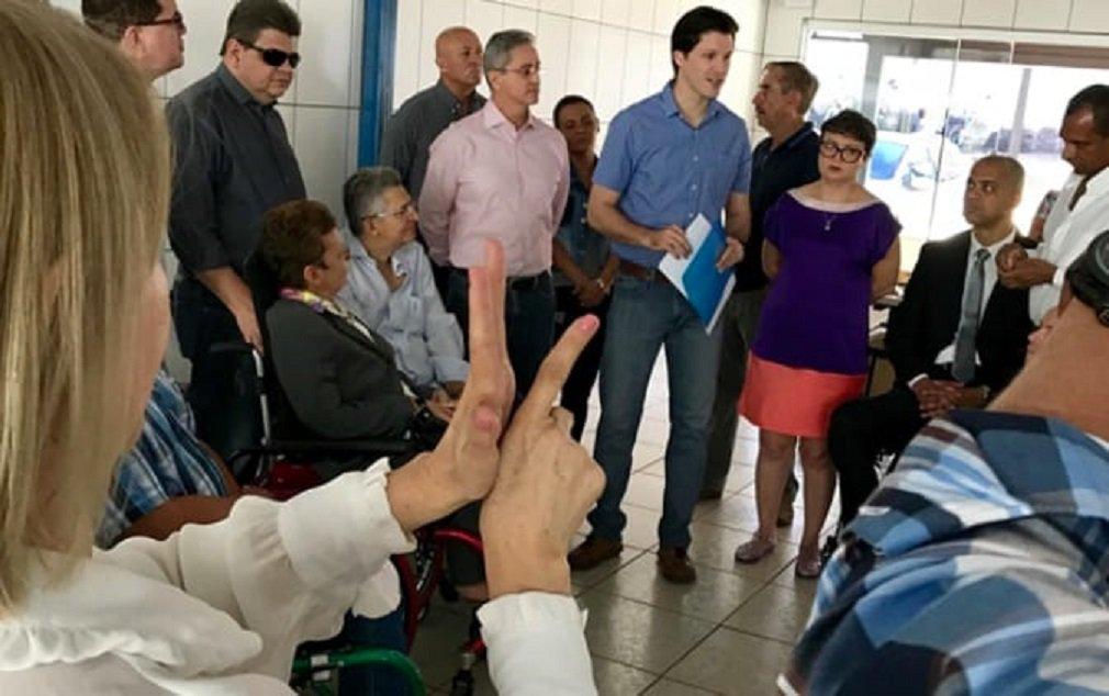 Daniel incorpora propostas para pessoas com deficiência no plano de governo