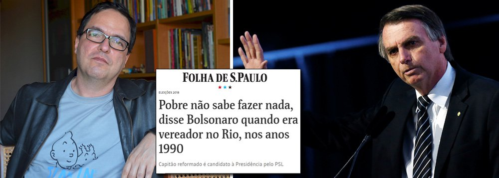 """Luis Felipe Miguel critica """"indigência mental"""" de Bolsonaro"""
