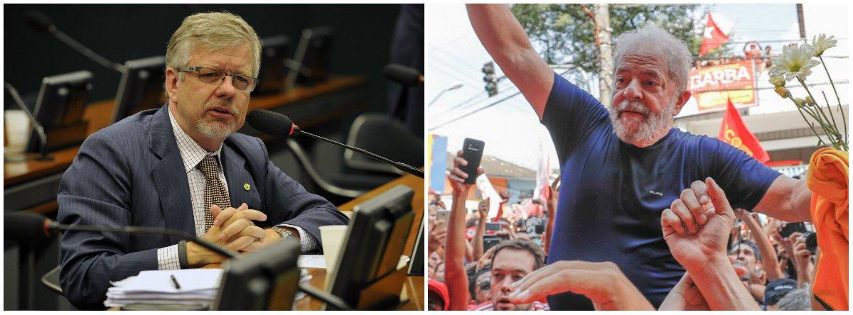 'O povo quer, a lei permite e o Brasil precisa: Lula de volta', diz Marco Maia