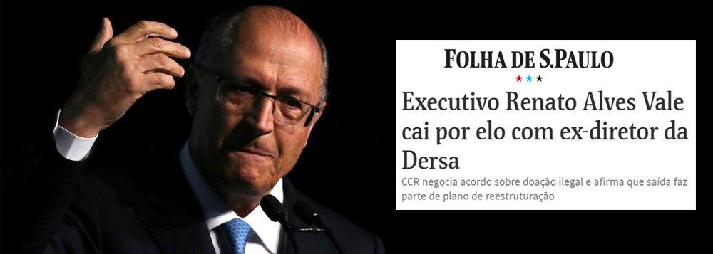 """Corrupção CCR-Alckmin: """"lavagem de notícia"""" na Folha"""
