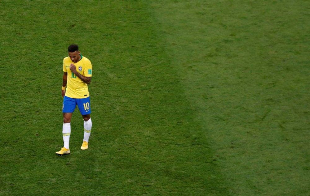 Rejeição a Neymar dobrou durante a Copa