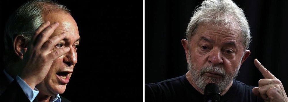 Ciro diz que Lula só tem chance de sair da prisão se pedetista for eleito