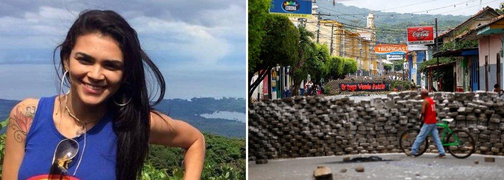 Brasil cobra explicações do assassinato de estudante brasileira na Nicarágua