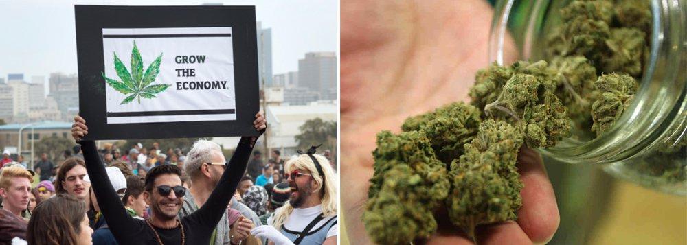 Legalização da maconha já atinge 62% da população dos Estados Unidos
