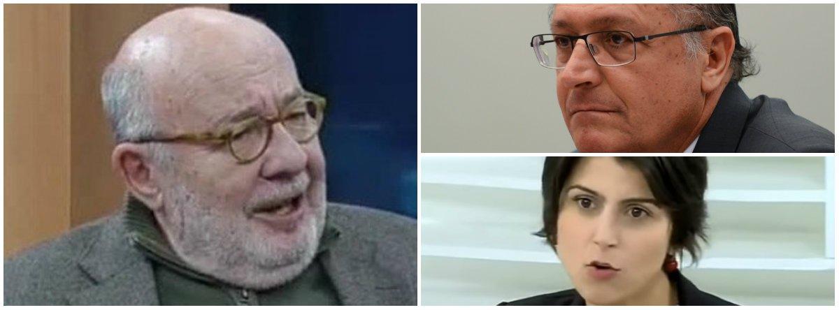 Meiguice no Roda Viva com Alckmin; é mais fácil bater em Manuela