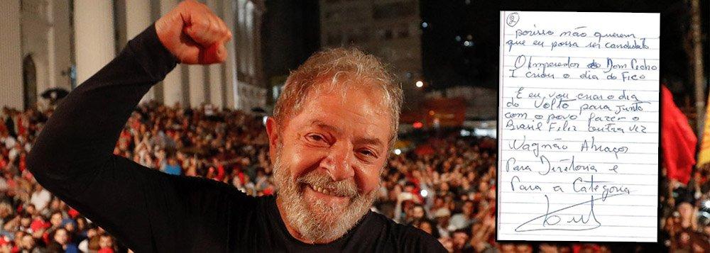 Programa 'Giro das 11' comenta recado de Lula ressaltando sua candidatura