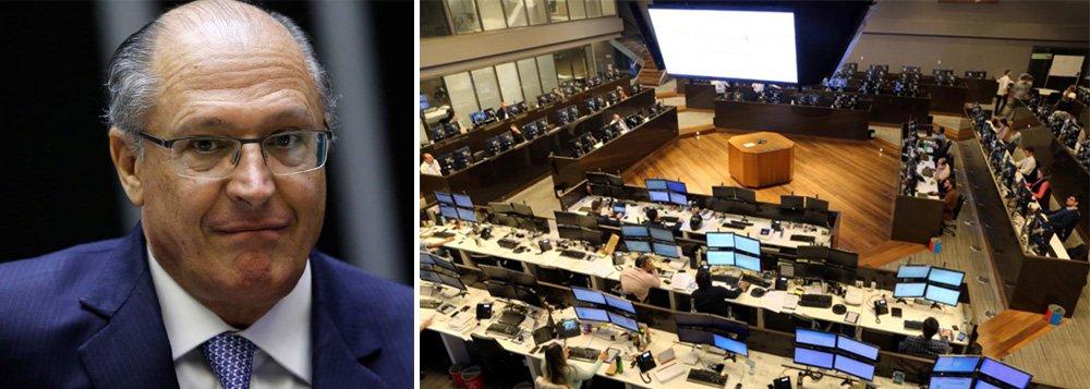 Alckmin ganha o carimbo fatal: o de candidato do sistema