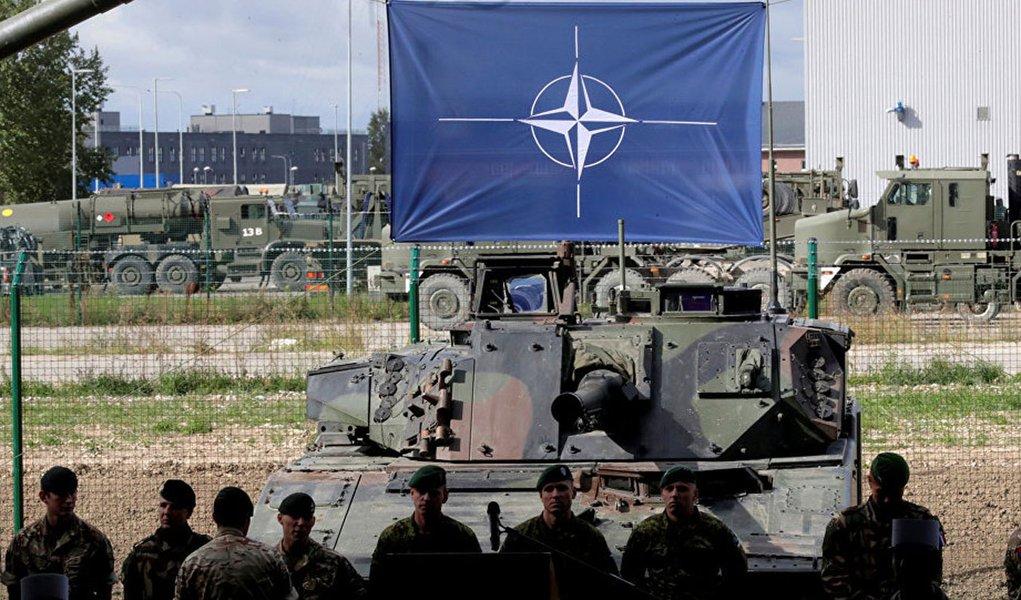 Infográfico mostra o alargamento da OTAN